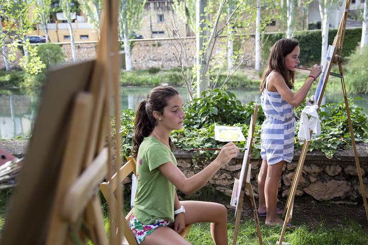 Trillo celebra el XIV Concurso de Pintura Rápida este fin de semana que repartirá más de 7.000 euros en premios