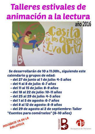 Comienza el programa estival de animación a la lectura en Azuqueca