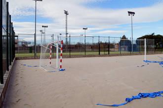 El equipo nacional de Balonmano Playa Sub 16 se entrena en Azuqueca
