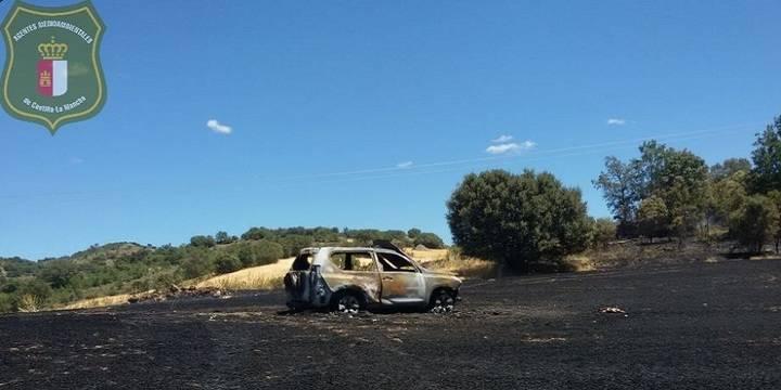 Un pequeño incendio en Brihuega provoca una imagen que pone los pelos de punta a toda la provincia