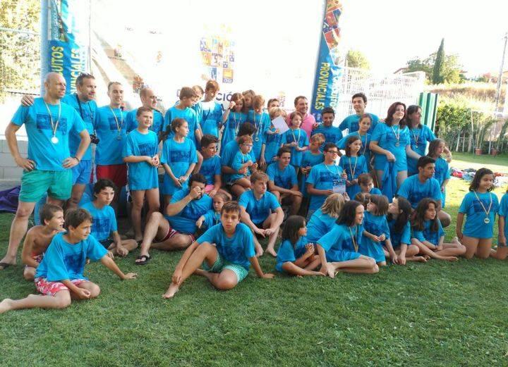 El Interpueblos de natación llega a su ecuador ampliando la participación