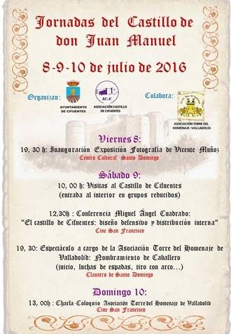 Cifuentes celebra las Jornadas del Castillo de don Juan Manuel