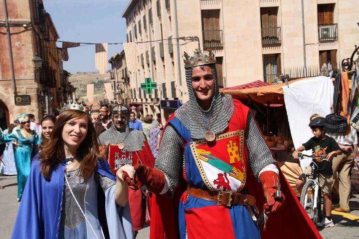 Doña Blanca de Borbón volverá a Sigüenza en las XVII Jornadas Medievales