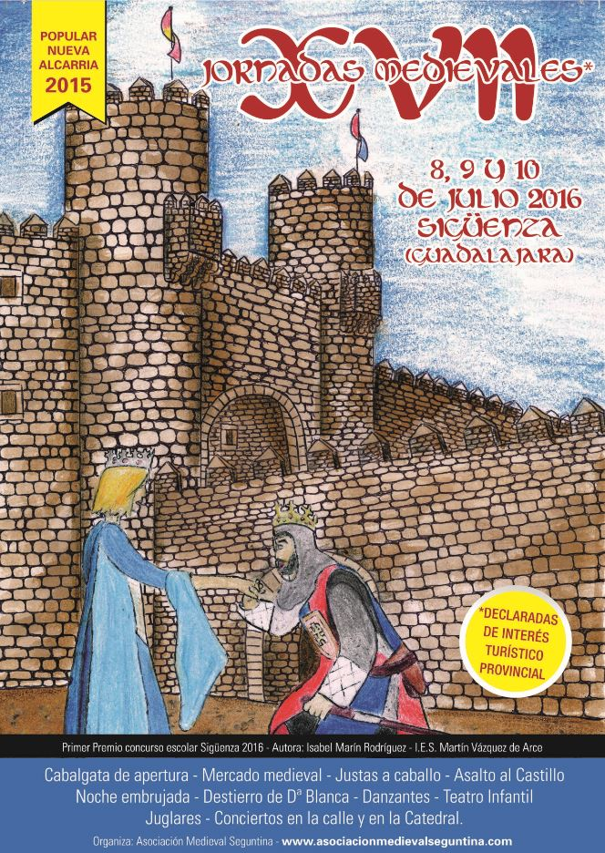 Sigüenza ya tiene imagen para sus XVII Jornadas Medievales