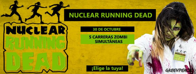 "Greenpeace organiza una carrera popular ""zombi"" en Gárgoles de Abajo"