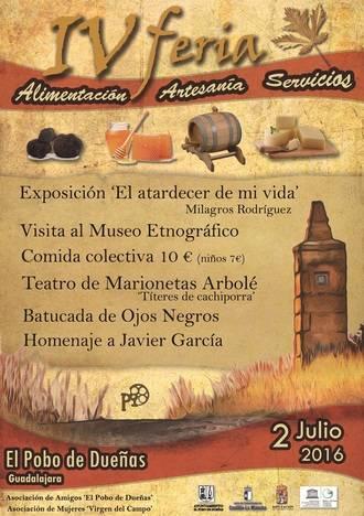 El Pobo de Dueñas se prepara para su IV edición de la Feria de Artesanía, Alimentación y Servicios