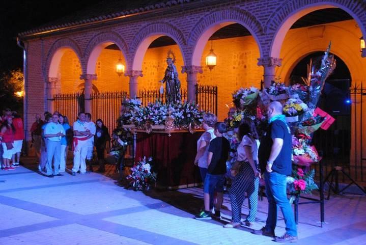 Rotundo éxito de unas multitudinarias fiestas en honor a la Virgen del Carmen de Alovera