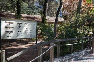 Restaurado el panel de rapaces ibéricas diurnas del Zoo de Guadalajara