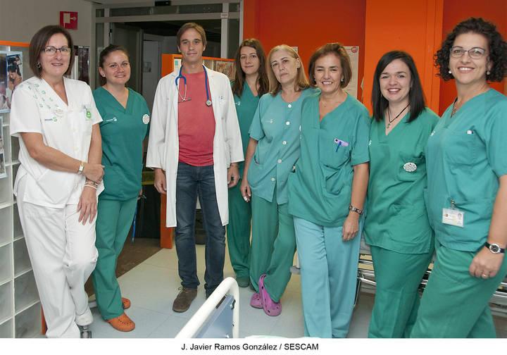 Profesionales del Hospital y centros de salud de Guadalajara participan en distintas actividades de apoyo a la lactancia