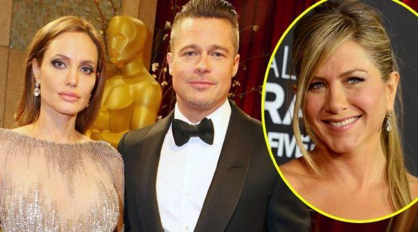Angelina Jolie y Brad Pitt se separan y Jennifer Aniston se frota las manos