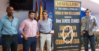 Sánchez Vara, López Bayo y Curro de la Casa, protagonistas de la corrida de toros alcarreña de la Feria Taurina de la Antigua 2016