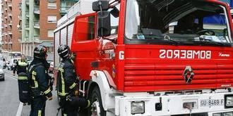 Susto en la avenida del Ejército por el incendio en una vivienda