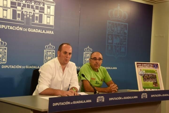 El Circuito Provincial de Canicross Diputación de Guadalajara comienza el 23 de octubre en Trillo