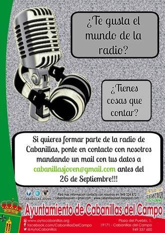 Cabanillas busca voluntarios para impulsar una radio local participativa