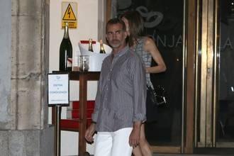 Cena privada de Felipe y Letizia en una marisquería de Madrid