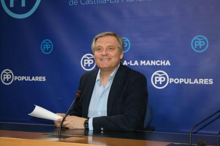 """Cañizares denuncia """"la parálisis que sufre Castilla-La Mancha por la falta de trabajo y la inoperancia de Page"""""""