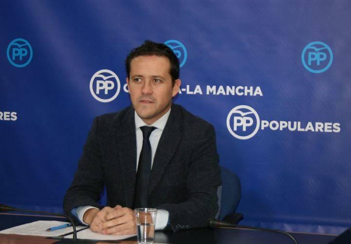 """Velázquez denuncia que Page """"sigue agravando la situación caótica e insostenible de la Sanidad de Castilla-La Mancha"""""""