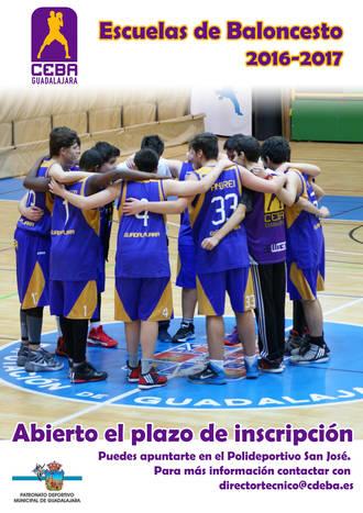 Abierto el plazo de inscripción para las escuelas del CEBA Guadalajara
