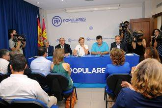 """Cospedal insta a Sánchez a """"abandonar sus intereses partidistas y permita la formación de un gobierno en España"""""""