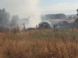 Se declara un nuevo incendio entre Alovera y Azuqueca