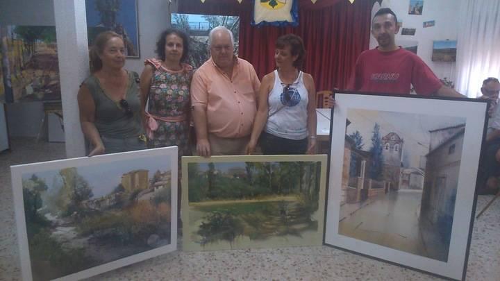Málaga del Fresno celebró su VIII Concurso Nacional Pintura Rápida