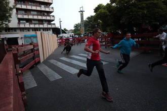 Cuatro heridos en el tercer encierro de las Ferias y Fiestas de Guadalajara