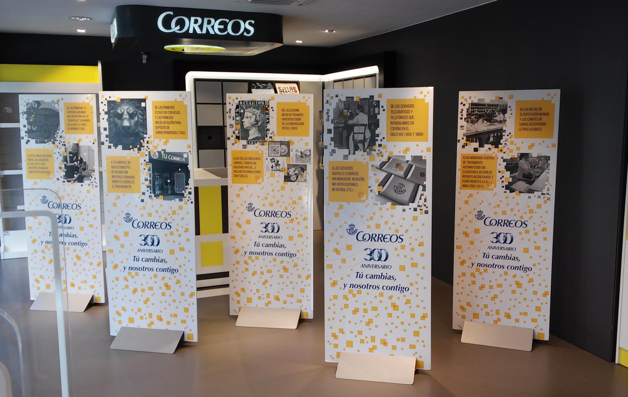 Exposici n sobre el 300 aniversario de correos en la oficina principal de guadalajara guada news - Horario oficina correos madrid ...