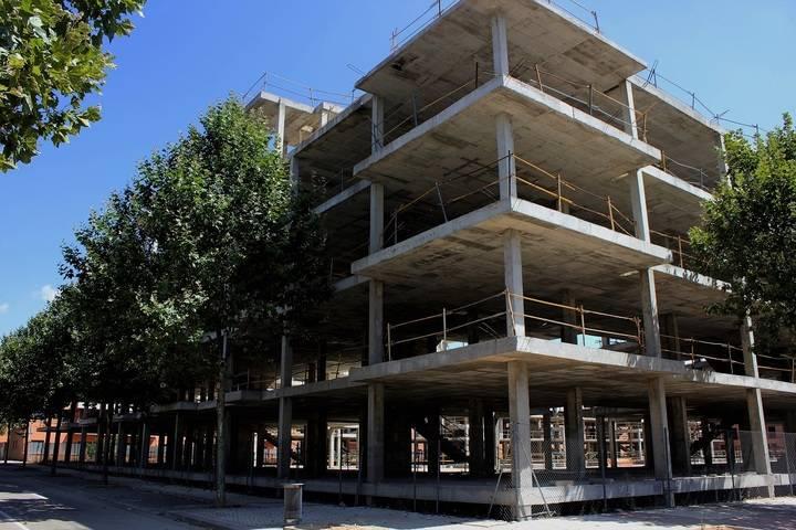 Vuelve a construirse en Valdeluz tras 10 años de parón