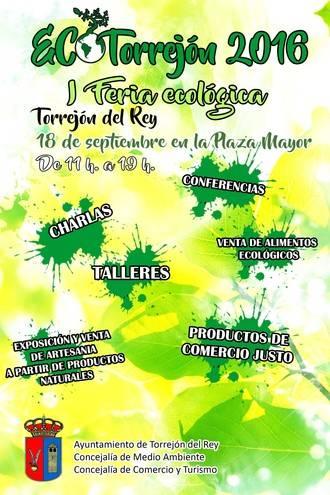 Torrejón del Rey prepara la primera edición de ECOTorrejón Feria Ecológica