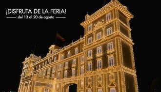 Dos millones bombillas LED marcan el inicio de la Feria de Málaga