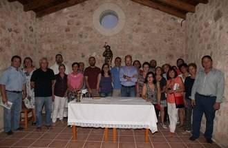 Comienzan las fiestas de Cereceda con la bendición de la nueva imagen de San Roque