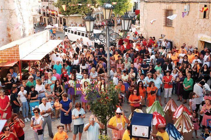 Participación, presencia de público e implicación de las nuevas generaciones en las fiestas patronales de Escariche