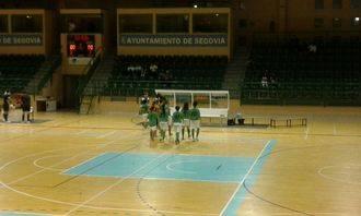 Trabajada vitoria del FSF Alovera en el Pedro Delgado de Segovia