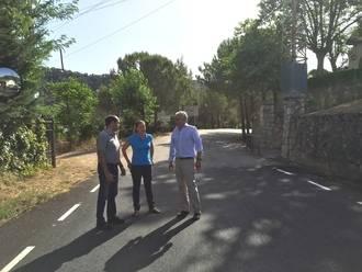 La Diputación mejora la carretera de Almonacid de Zorita hasta la provincia de Cuenca