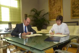 La Diputación colabora con la Escuela Oficial de Idiomas Extensión de Sigüenza en el mantenimiento de su actividad