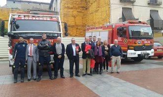 Arranca en Jadraque la IX Semana de la Prevención de Incendios del Consorcio de Bomberos de Diputación