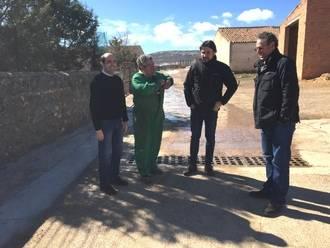 La Diputación acomete obras de mejora en varias localidades de la zona de Molina de Aragón