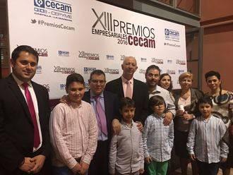 La Diputación felicita al Grupo Lino por el premio otorgado por CECAM a su trayectoria