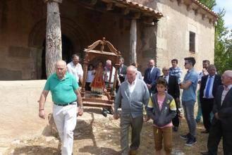El presidente de la Diputación asiste en Madrigal a las fiestas patronales en honor a San Lorenzo