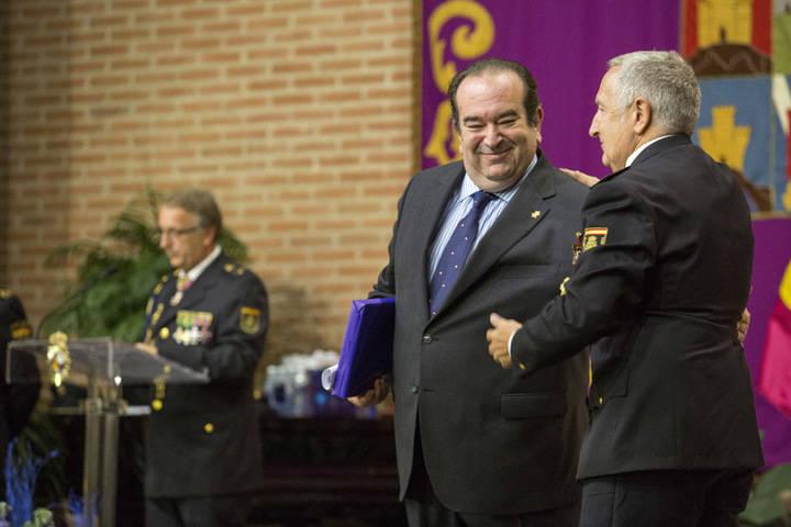 El Colegio de Abogados de Guadalajara, distinguido por la Policía Nacional en los Santos Ángeles Custodios