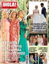 ¡HOLA! Cómo Rocío Carrasco homenajeó a su madre en la ceremonia