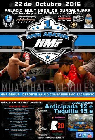 Guadalajara acoge el I Open Amateur de HMF