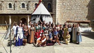 El pasado medieval de Fuentenovilla volvió al presente en el último fin de semana de agosto