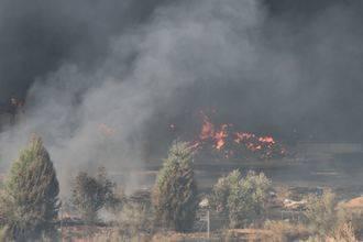 """""""El silencio de Page sobre el incendio de Chiloeches refuerza la sospecha de la implicación de su Gobierno en la trama del almacén ilegal"""""""