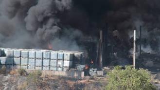 La Junta de Castilla-La Mancha sube la alerta y activa el nivel dos de emergencia por el incendio de Chiloeches