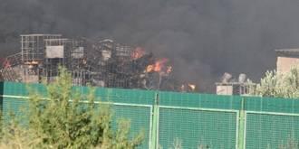 El incendio de Chiloeches sigue activo más de cien horas después de su inicio