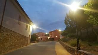 Más luz y más eficiente en la cuesta de la Ermita, acceso principal a Pareja