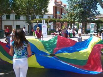 Los aloveranos se implican en las XI Jornadas Solidarias