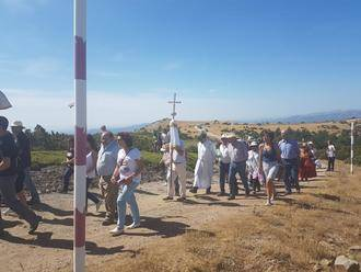 El presidente de la Diputación asiste a la tradicional romería del Alto Rey, declarada de Interés Turístico