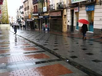 Guadalajara comienza la semana con lluvias y con el mercurio en los 14ºC
